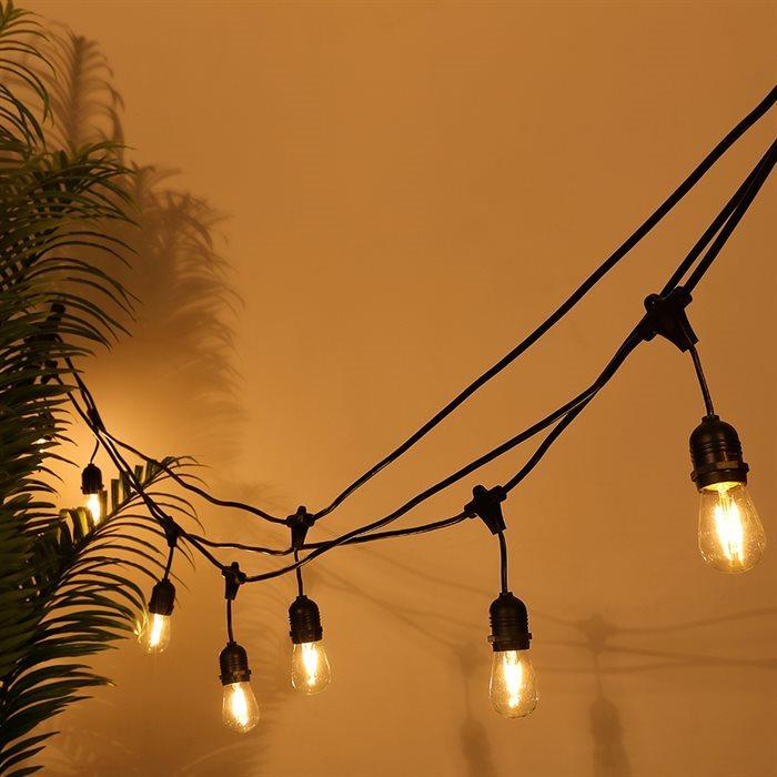Populære LED lyskæder til udendørsbrug ⎮Tilbud på ledide.dk GI-91